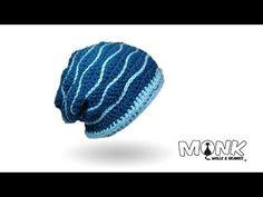 Ravelry: Swell Beanie pattern by Monk Wolle & Beanies Love Crochet, Knit Crochet, Crochet Hats, Knitting Videos, Crochet Videos, Scarf Hat, Beanie Hats, Diy Pinterest, Crochet Skirts
