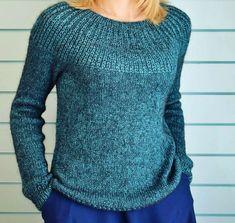 Sweater Knitting Patterns, Knitting Designs, Knit Patterns, Baby Knitting, Knit Fashion, Cotton Sweater, Pulls, Long Sleeve Sweater, Knitwear