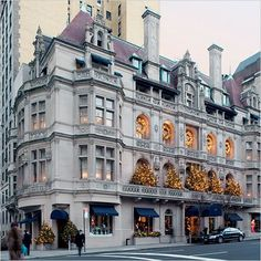 On my next trip to NYC, this is at the top of my list of places to go: The Polo Mansion!