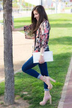 Look con kimono #kissmylook