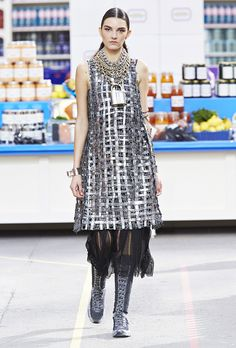 5. A bike chain can double as an accessory // 5 Ways Chanel's F/W Collection Will Change Your Life For The Better