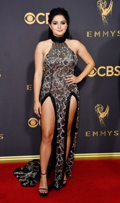 be6896ceb Ariel Winter  Switched Up  Her Emmys Dress   I Usually Do Cleavage and Not  Legs