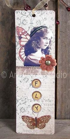 Fly Altered Bookmark