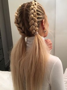 52 Braid Hairstyle Ideas for Girls Nowadays, 52 Braid Hairstyle Ideas for Girls Nowadays, Related posts:Sommerhochsteckfrisuren für lange Haare - Neu Haare Frisuren 2018 - My. Long Hairstyles, Pretty Hairstyles, Hairstyle Ideas, Braided Hairstyles For School, Hairstyles With Braids, French Braid Hairstyles, Different Hairstyles, Clubbing Hairstyles, Braid Hairstyles