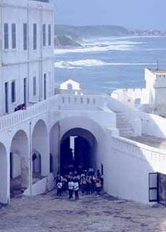 The Door of No Return..Ghana. Elmina castle