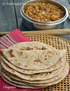 """One of the most famous and versatile of Indian dishes, the """"Chapati"""" is a favourite with kids and adults alike."""
