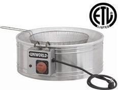 Uniworld Funnel Cake and Zeppoli Deep Fryer Vat Model UF-R20