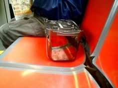 Toaster on Muni. Bring your own bread.
