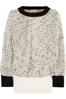 Chloé Open-knit cotton-blend sweater | NET-A-PORTER