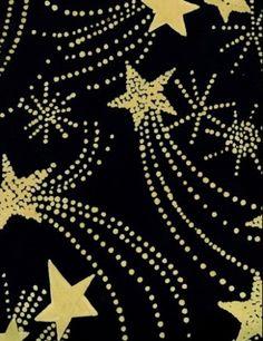 Luli Sanchez art deco shooting stars