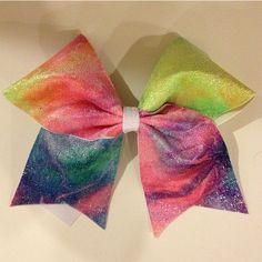 Multicolored bow