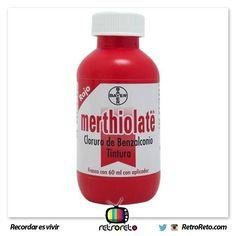 ¡Somos sobrevivientes al Merthiolate! http://www.RetroReto.com