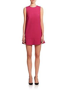 RED Valentino Flutter Hem Dress
