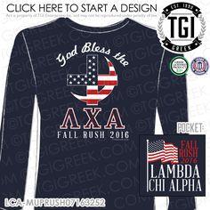 TGI Greek - Lambda Chi Alpha - Recruitment - Greek Apparel #tgigreek #lambdachialpha