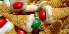 Kersthapjes met Bugles en M's