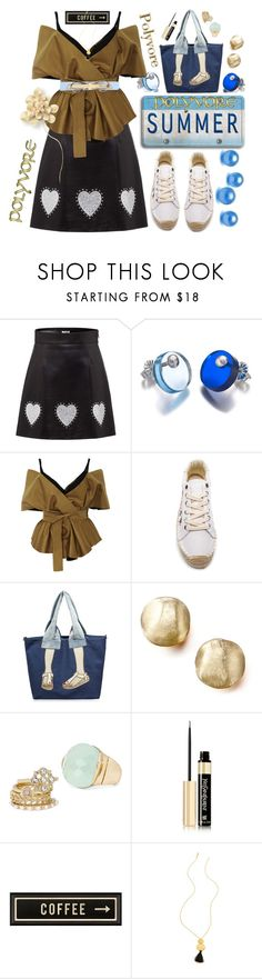 """""""Polyvore Summer"""" by rita257 ❤ liked on Polyvore featuring Miu Miu, FrillyByLily, Acler, Soludos, Marco Bicego, Decree, Yves Saint Laurent, Spicher and Company, Gorjana and Ted Baker"""