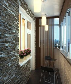 Балкон где можно в любое время отстраниться от суеты и бытовых проблем.