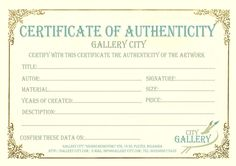 Blank certificate of authenticity limited edition prestige of certificate authenticity template art authenticity certificate template certificate of authenticity word template certificate of authenticity template yadclub Image collections