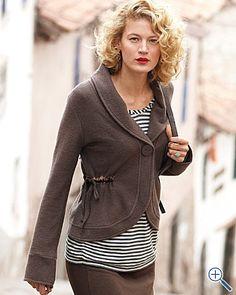 cute boiled wool jacket  $168 #clothing #style #fashion