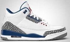 Jordan 3 Retro True Blue - New