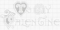 To My Valentine (free chart)  Heartstring Samplery