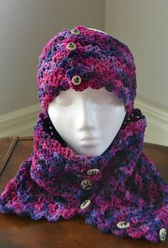 Grapevine Cowl And Headband By Creative Cia - Free Crochet Pattern - (ravelry)