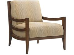Island Fusion Singapore Chair with Exposed Wood and Raffia Frame by Tommy Bahama Home at Baer's Furniture Dinning Chairs, Living Room Chairs, Den Furniture, Furniture Design, Furniture Ideas, Lexington Home, Asian Design, Exposed Wood, Chair Fabric