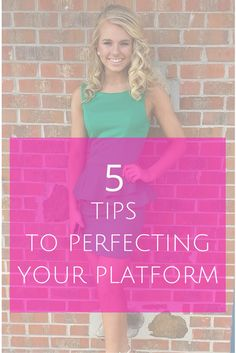 5 Tips to Perfecting Your Pageant Platform for Interview Ever since the Miss America Organization fo Pageant Tips, Teen Pageant, Beauty Pageant, Pageant Dresses, Pageant Questions, Interview Questions, Pagent Hair, Little Miss Perfect, Rodeo Queen