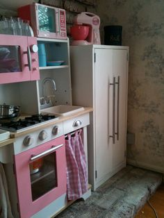 DIY Children Play Kitchen | Repurposing | Pinterest | Children play ...