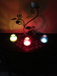 Candle light in my house so beautiful!<3