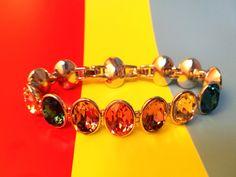 #Bracelet#champion Fashion Accessories, Fashion Jewelry, Women Jewelry, Rainbows, Unique Fashion, Swarovski Crystals, Champion, Brooch, Jewels