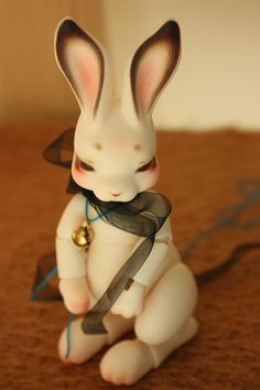 cocoriang bjd Ball Jointed Dolls, Blythe Dolls, Bjd, Rabbit, Handmade Gifts, Animals, Etsy, Bunny, Handcrafted Gifts