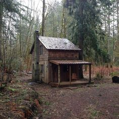 This reminds me of a smaller version of the little house on the prairie house on tv