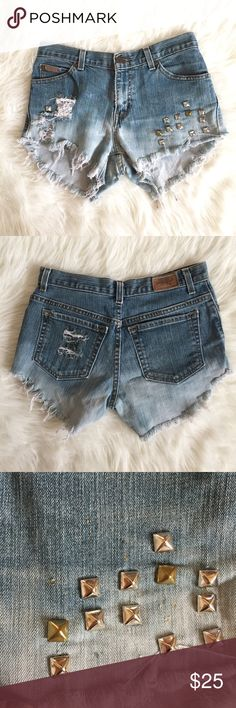 Qualified Hippie Laundry Faded Jean Short Shorts Leggings Clothing, Shoes & Accessories Sz 32 Or 15 Distressed Nwot With The Best Service