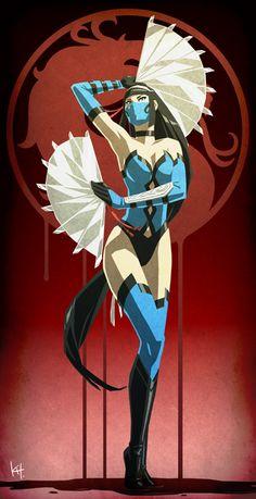 My name is Princess Kitana. from Mortal kombat. Kitana Mortal Kombat, Mortal Kombat Art, Video Game Characters, Fantasy Characters, Chica Anime Manga, Anime Art, Comic Books Art, Comic Art, Ahri Wallpaper