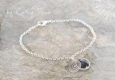 Armbänder - Boho Armband schwarz - ein Designerstück von Cathy-Thica-Namaste bei DaWanda
