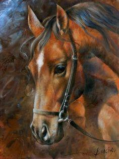 Head Horse Print By Arthur Braginsky