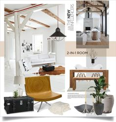 """rustic with a modern touch"" by magdafunk on Polyvore"