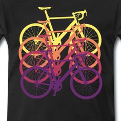 17Shirts Lustige und bunte Kleidung Speed Bike, Bicycle, Shirts, Racing, Road Racer Bike, Trial Bike, Clothes, Bike, Bicycle Kick