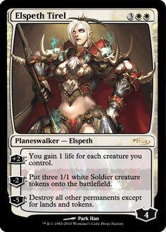Custom Elspeth Tirel Proxy