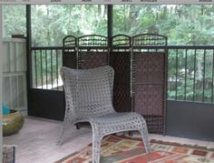 Tall Fiber Weave Room Divider More Panels Colors