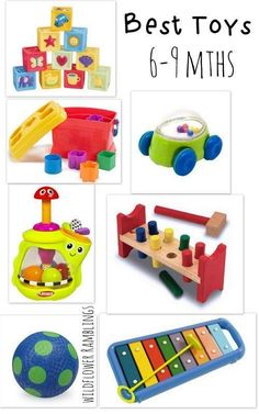 Best baby toys (6 to 9 months) - Wildflower Ramblings