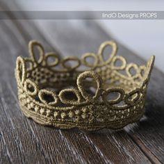 Lace Loop Crown #photo #prop
