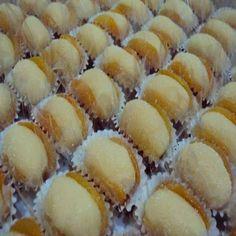Docinho Olho Do Sogro, um doce feito em dois passos que fica muito gostoso e charmoso na mesa, aprenda essa receita http://cakepot.com.br/docinho-olho-sogro/