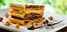 Mil-Folhas de Nutella com Crocante de Avelã - UOL Estilo de vida