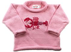 Dinosaur Jumper, Red Wagon, Roll Neck Sweater, Sweater Making, Baby Sweaters, Pink Sweater, Classic Looks, Looks Great, Knitting