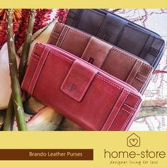The Brando Leather range is of world class quality, imported from A-rated tanning manufacturers internationally. Home-Store showcase a wide selection of bags, wallets and purses.
