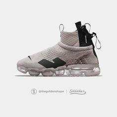 Acronym x Nike Air VaporMax Flyknit Moc Light Bone All White Sneakers, Nike Wear, Shoe Wardrobe, Shoe Closet, Shoe Room, Baskets Nike, Nike Basketball Shoes, Nike Shoes, Nike Air Vapormax