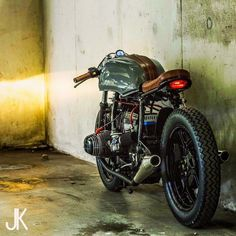 Wicked BMW Boxer Café Racer