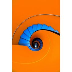 Blue as an orange ❤ liked on Polyvore featuring spiral